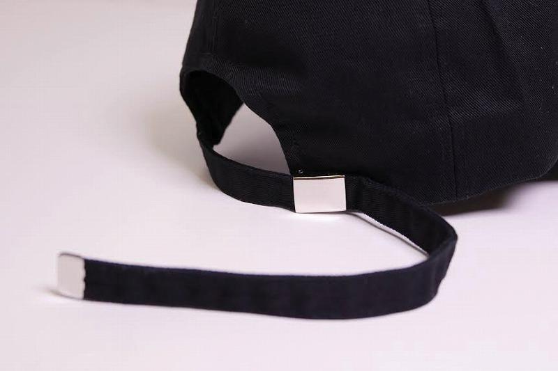 LONG STRAP DAD HAT BLACK  再入荷! ロング ストラップ キャップ ブラック c286d5bfc308